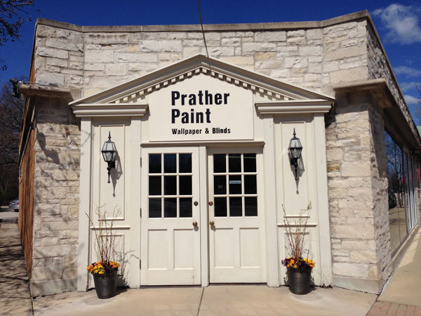 Prather Paint Storefront on Greenbay Road
